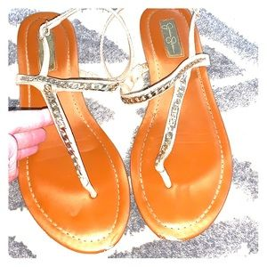 Cute Sandal with some bling!